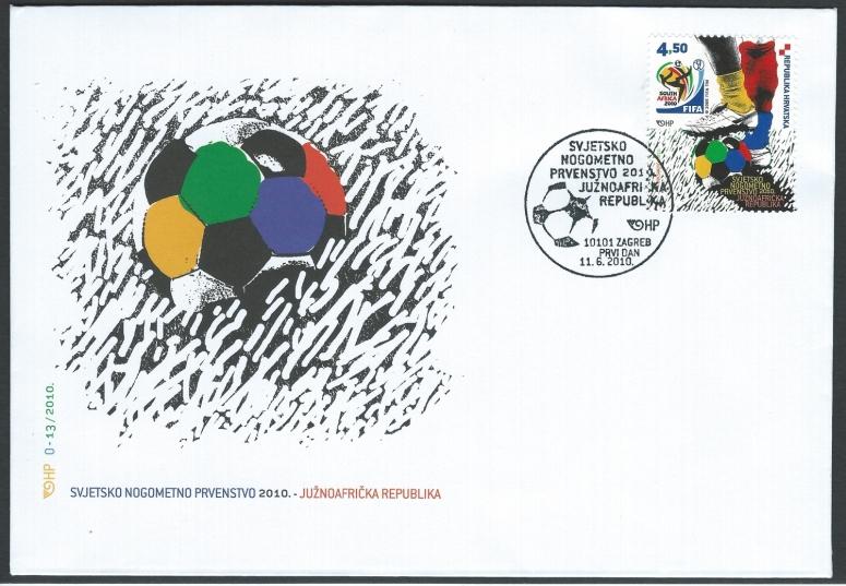 Croatia 2010 World Cup FDC